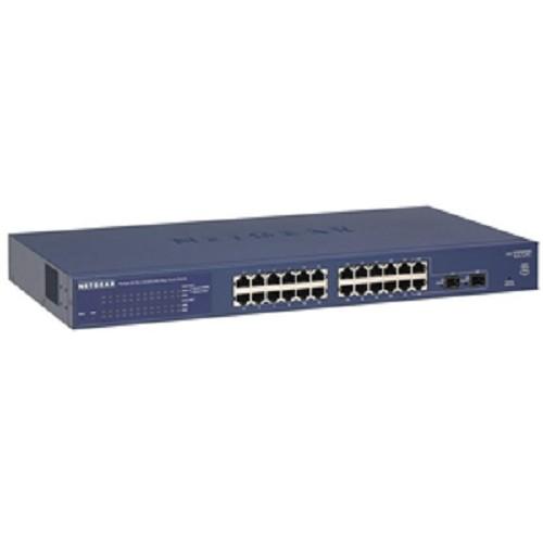 NETGEAR ProSafe Gigabit Smart Switch [GS724T] - Switch Managed